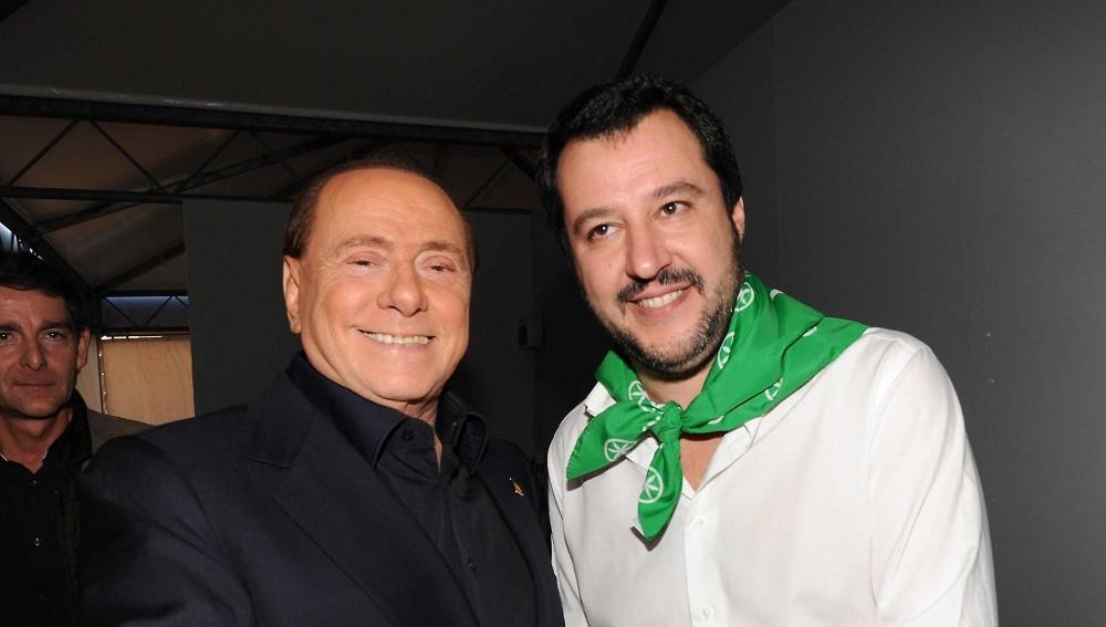 Salvini Premier, con Berlusconi alleato. Ecco cosa ha detto Salvini oggi e il Cavaliere