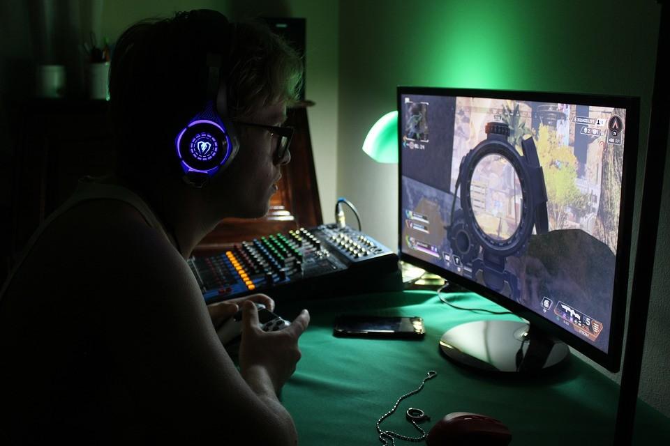 Giocatore su PC