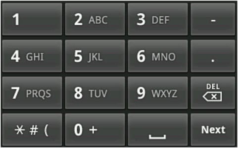tastiera t9 per android