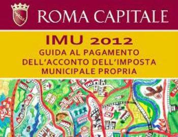 Imu guida online 2012 del comune di roma per prima - Calcolo imu box seconda casa ...