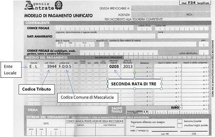 Tasi e imu 2014 come si paga e calcolo f24 codici for F24 elide istruzioni