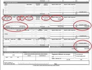 Mini imu guida calcolo compilare f24 detrazioni in for Dove pagare f24