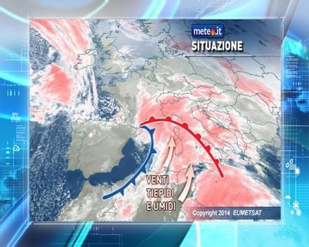 Previsioni meteo e del tempo oggi sabato 1 febbraio 2014 e for Eventi piemonte domani