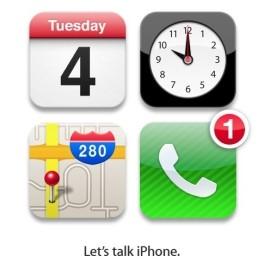 Presentazione apple iPhone 5 il 4 ottobre 2011